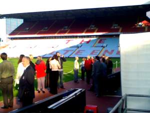 Delegates at Aston Villa